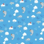 Cloud Pattern- Stormy Weather; Illustrator. 2010