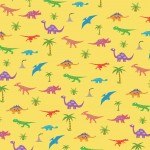Dinosaur Pattern; Illustrator. 2010