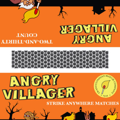 Angry Villager Matches (Mummy); Illustrator. 2010