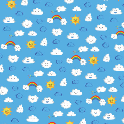 Sunny Weather pattern; Illustrator. 2010.