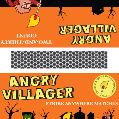 Angry Villager Matches- Frankenstein; Illustrator. 2010