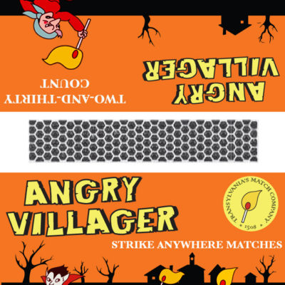 Angry Villager Matches- Dracula; Illustrator. 2010