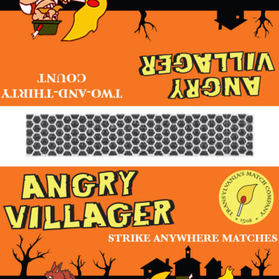 Angry Villager Matches- Wolfman; Illustrator. 2010