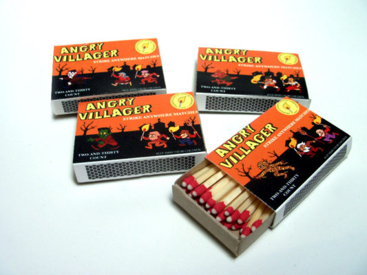Angry Villagers Matchbox