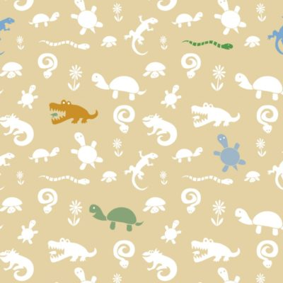 Reptile Pattern; Illustrator 2010