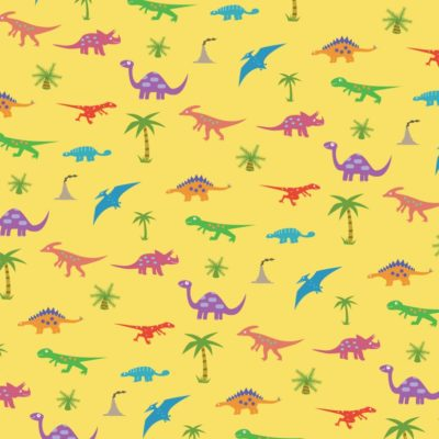 Dinosaurs Pattern; Illustrator. 2010